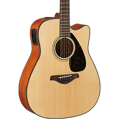 yamaha fg series fgx800c acoustic electric guitar musician 39 s friend. Black Bedroom Furniture Sets. Home Design Ideas