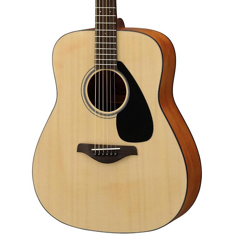 Yamaha fg650 folk acoustic guitar matte natural musician for Where are yamaha guitars made