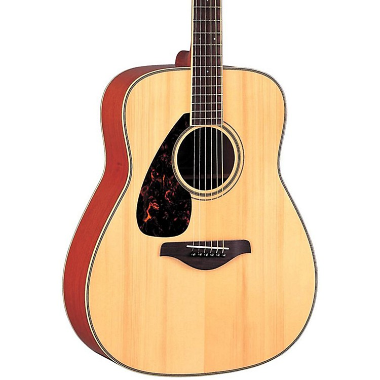 Yamaha FG720SL Left-Handed Folk Acoustic Guitar Natural
