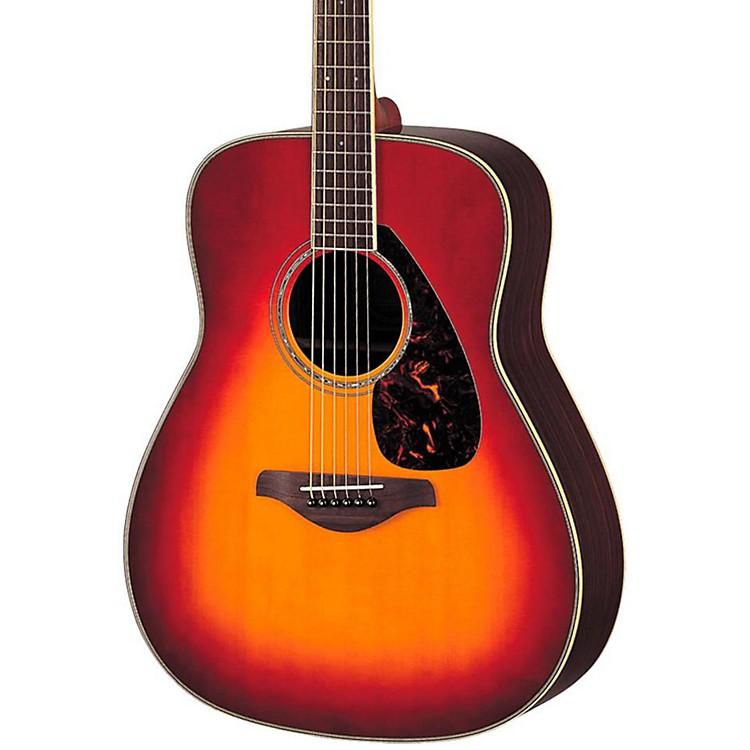 YamahaFG730S Solid Top Acoustic GuitarNatural
