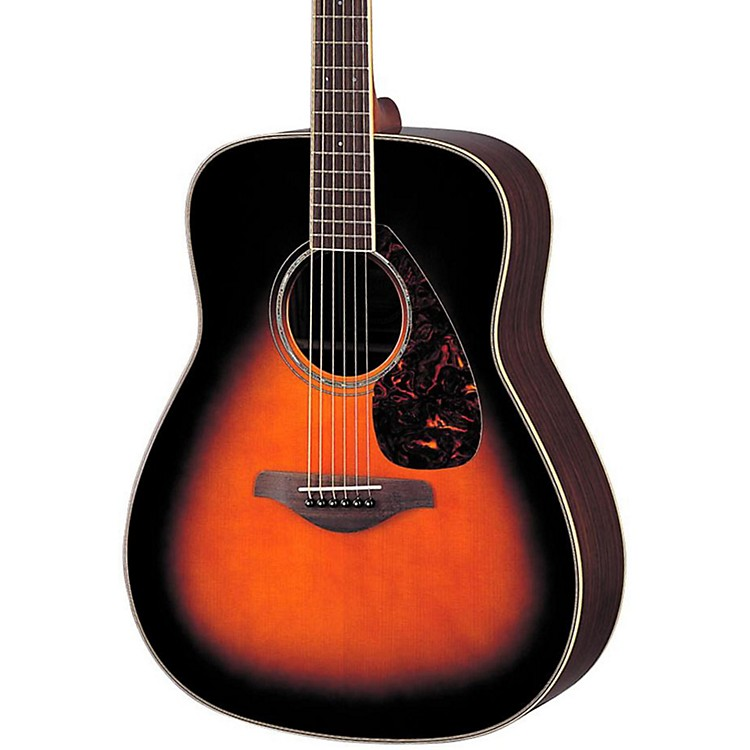 Yamaha FG730S Solid Top Acoustic Guitar Tobacco Sunburst