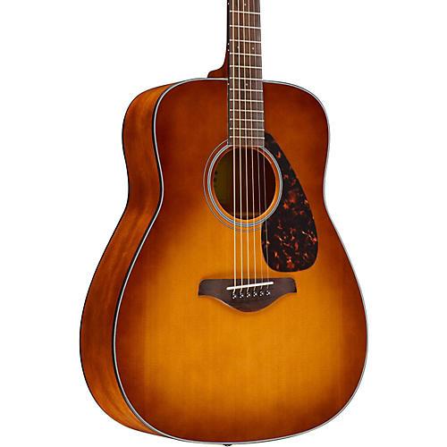 yamaha fg800 folk acoustic guitar sand burst musician 39 s