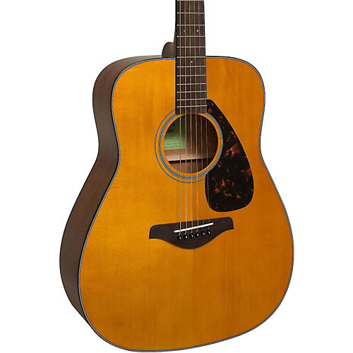 yamaha fg800 folk acoustic guitar vintage tint musician
