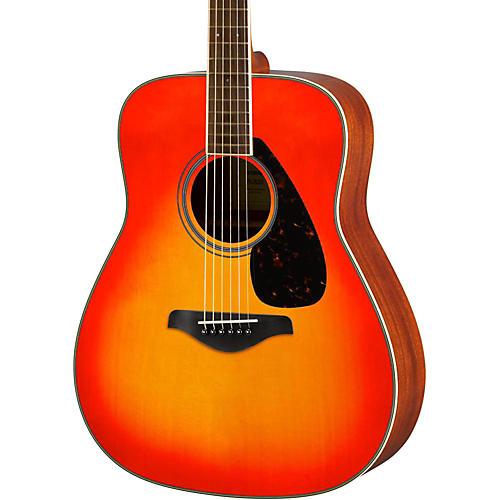 Yamaha FG820 Dreadnought Acoustic Guitar Autumn Burst