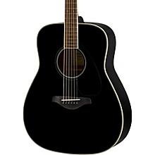 Yamaha FG820 Dreadnought Acoustic Guitar Black