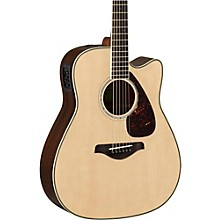 FGX830C Folk Acoustic-Electric Guitar Natural