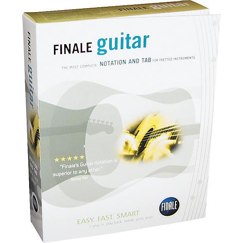 Finale FINALE Guitar Notation Software-thumbnail