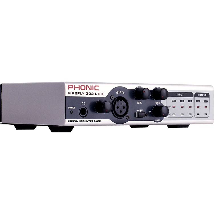 Phonic FIREFLY 302 USB Portable 5X6 USB Interface