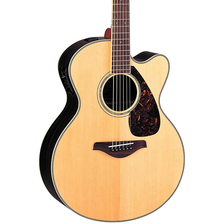 Yamaha FJX730SC Solid Spruce Top Rosewood Acoustic-Electric Guitar Natural