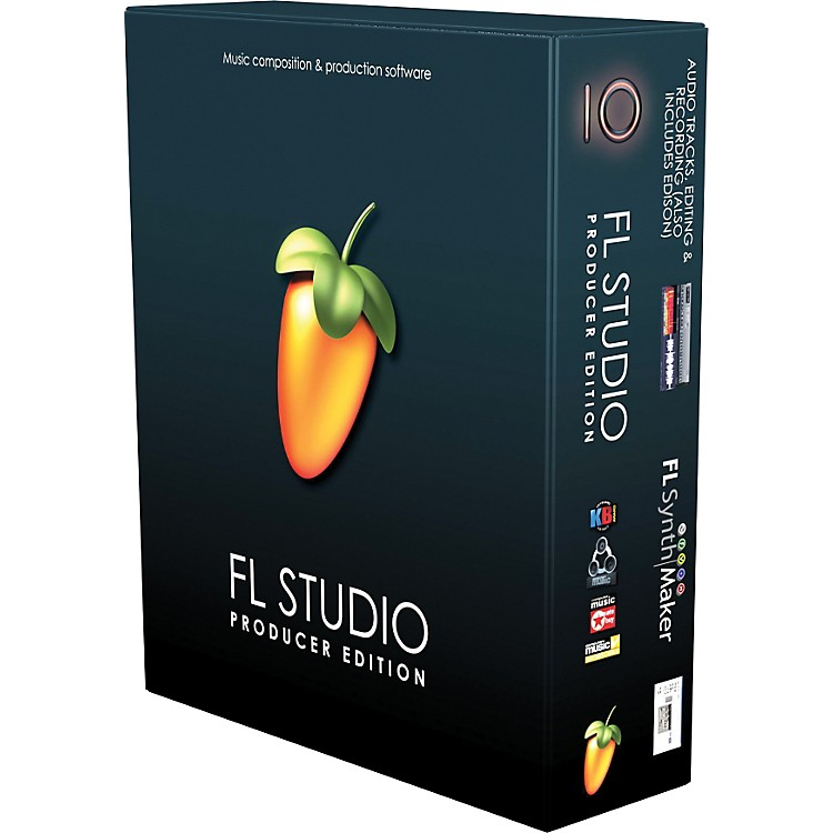 Image LineFL Studio 10 Producer Edu 5-User with Free Upgrade to Version 11