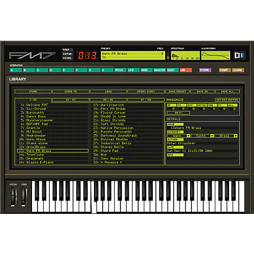 Native Instruments FM7 Soft Synth VST Native