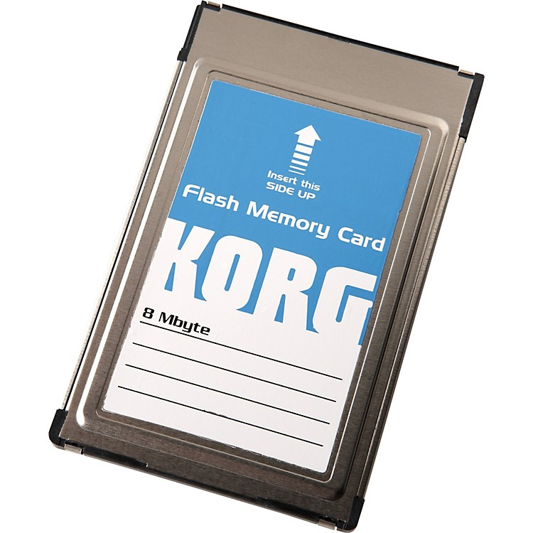 Korg FMC8MB Sampling Flash ROM Card for the PA80