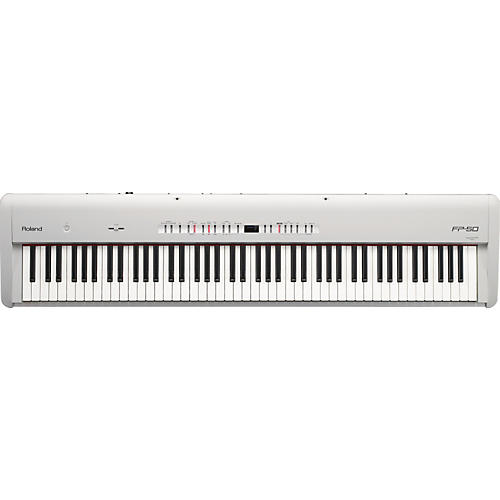 Roland FP-50 Digital Piano White