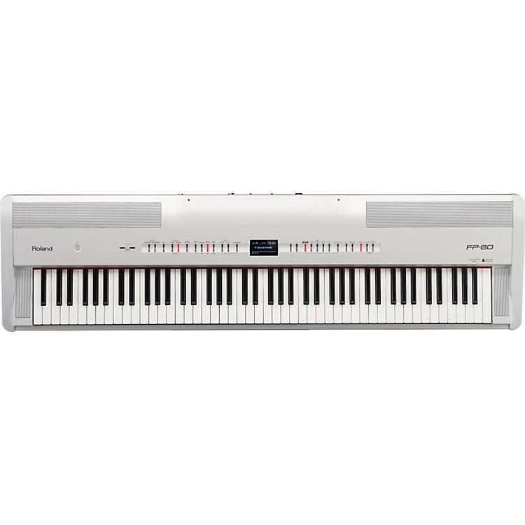 RolandFP-80 Digital PianoWhite