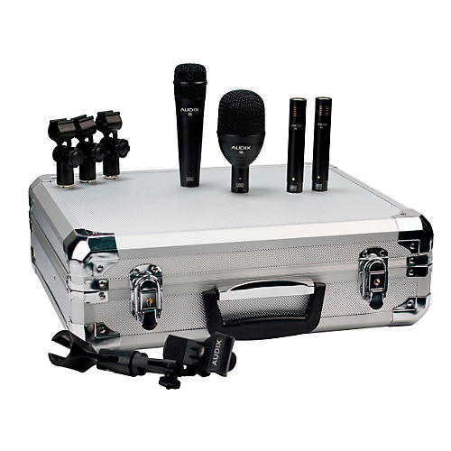 Audix FP Quad 4-Piece Drum Microphone Pack