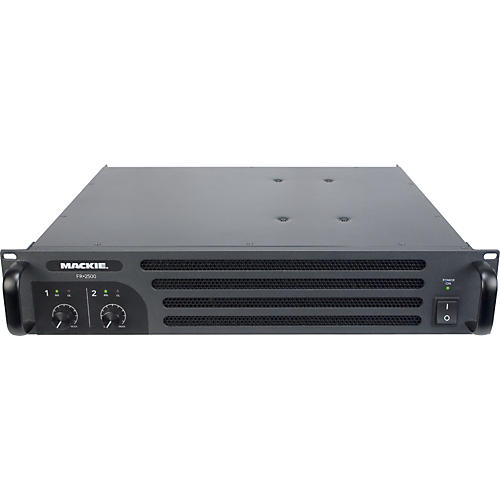 Mackie FR 2500 2-Channel Stereo Power Amplifier