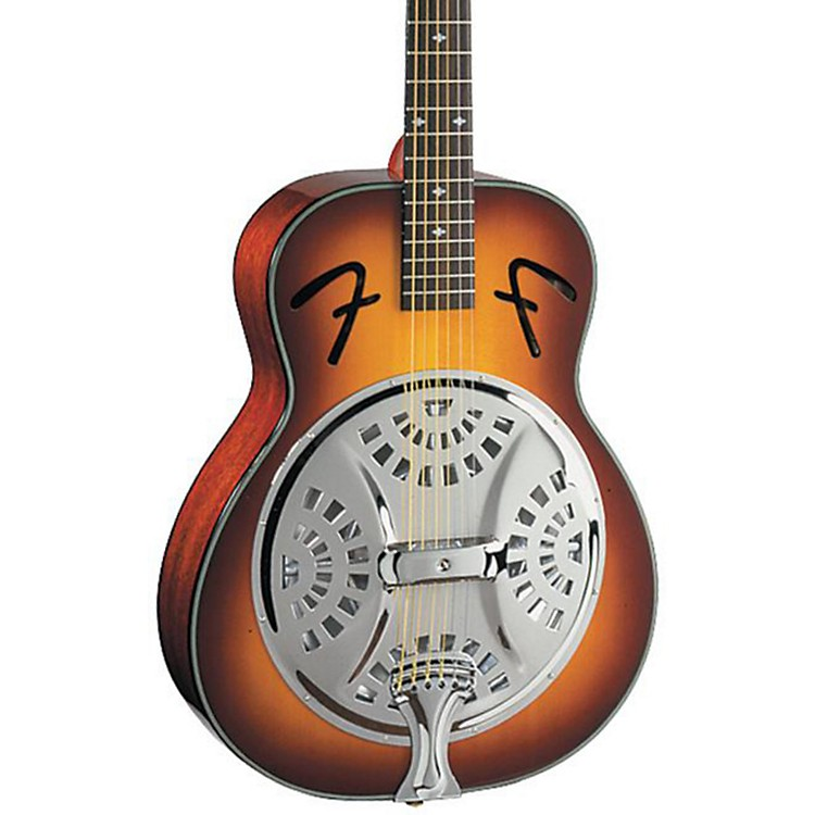 Fender FR-50 Resonator Guitar Sunburst