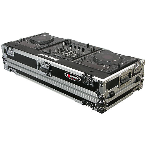 Odyssey FR12CDJWE ATA Flight Ready Coffin Case Black
