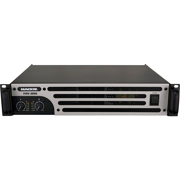Mackie FRS-2800 - 2800 Watt 2-channel Lightweight Power Amplifier