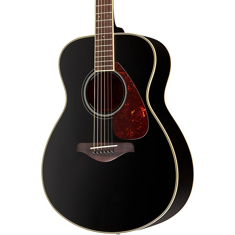Yamaha FS720S Folk Acoustic Guitar Black