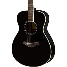 Yamaha FS820 Small Body Acoustic Guitar Black