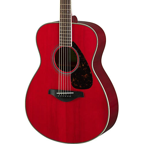 Yamaha FS820 Small Body Acoustic Guitar Ruby Red