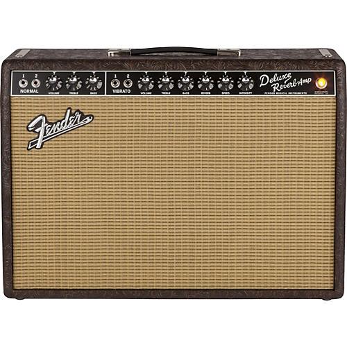 Fender FSR 65 Deluxe Reverb 22W 1x12 Tube Guitar Combo Amp-thumbnail