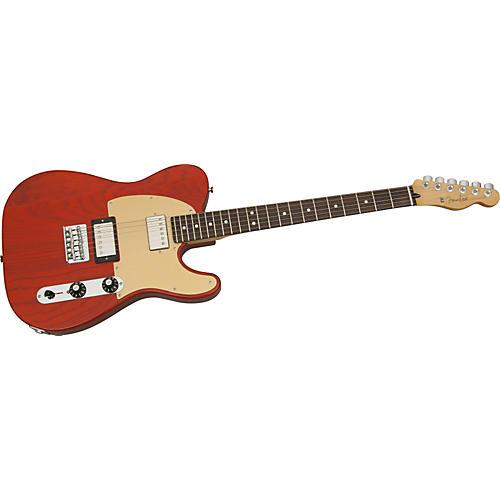 Fender FSR Blacktop Ash Telecaster Electric Guitar-thumbnail