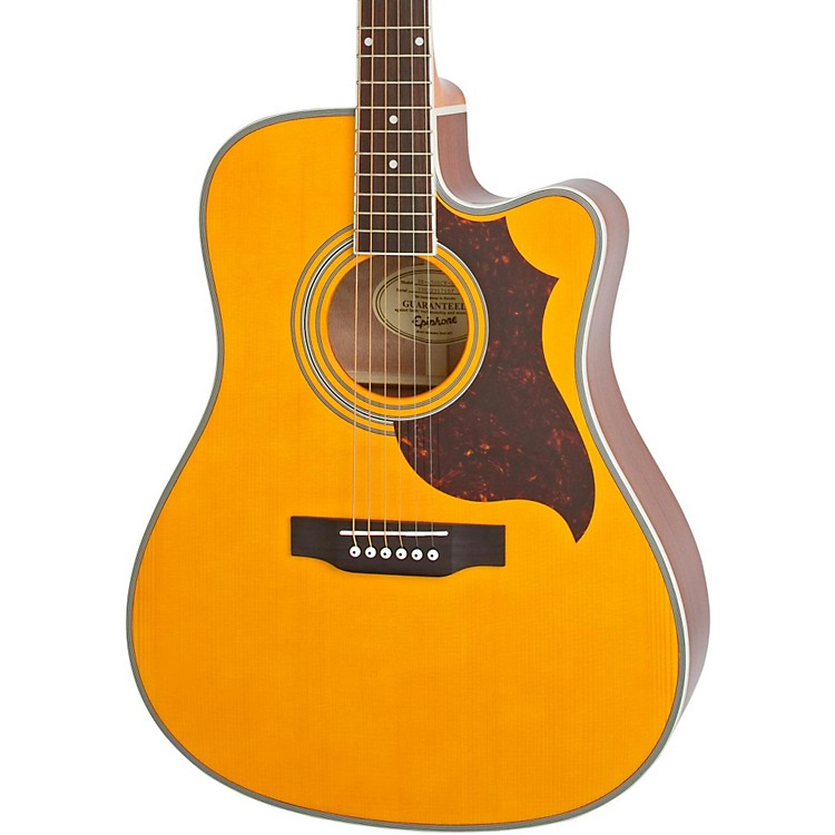 EpiphoneFT-350SCE Acoustic-Electric Guitar with Min-EtuneAntique Natural