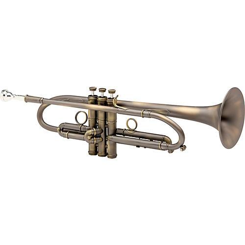 Fides FTR-8005L Symphony Heavy Series Bb Trumpet FTR-8005LA Antique Lacquer