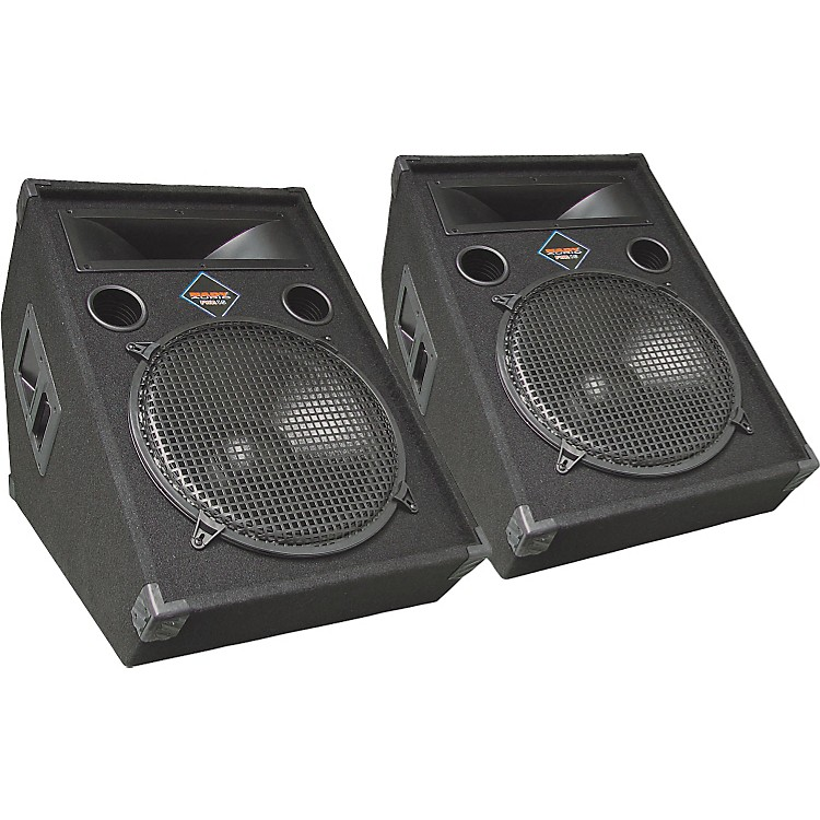 Nady FWA-15 Powered Floor Monitor Pair