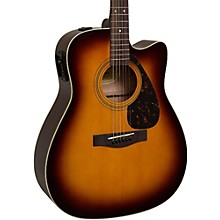 Yamaha FX335C Dreadnought Acoustic-Electric Guitar Tobacco Sunburst