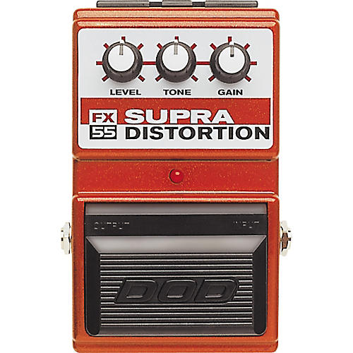 DOD FX55 Supra Distortion Pedal