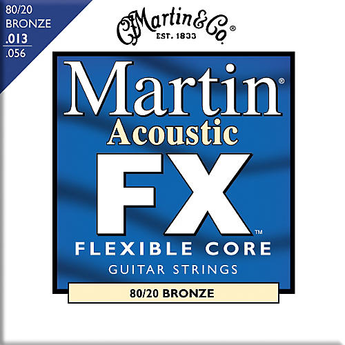 Martin FX650 80/20 Bronze Acoustic Medium Guitar Strings