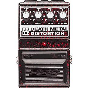 dod fx86 death metal distortion pedal musician 39 s friend. Black Bedroom Furniture Sets. Home Design Ideas