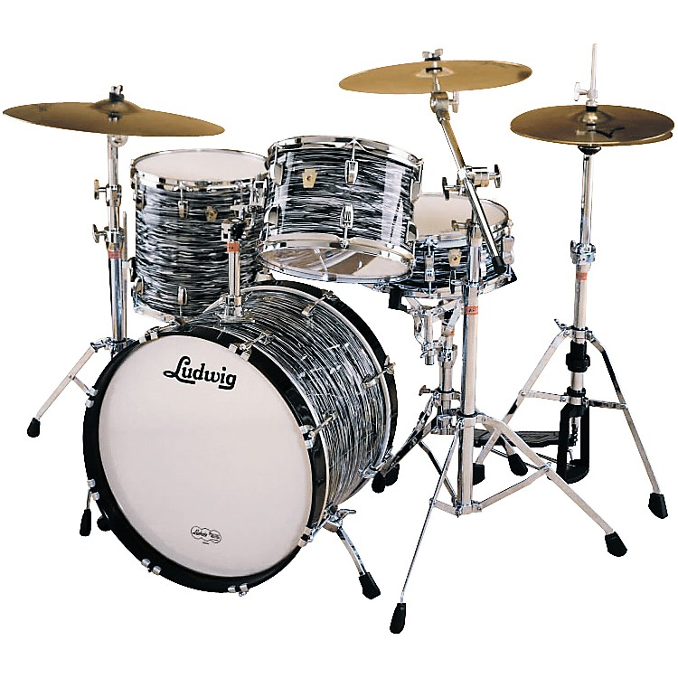 LudwigFab 4 Classic Maple Drum Set with 20