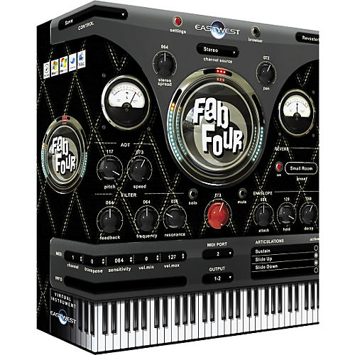 EastWest Fab Four Virtual Instruments Collection