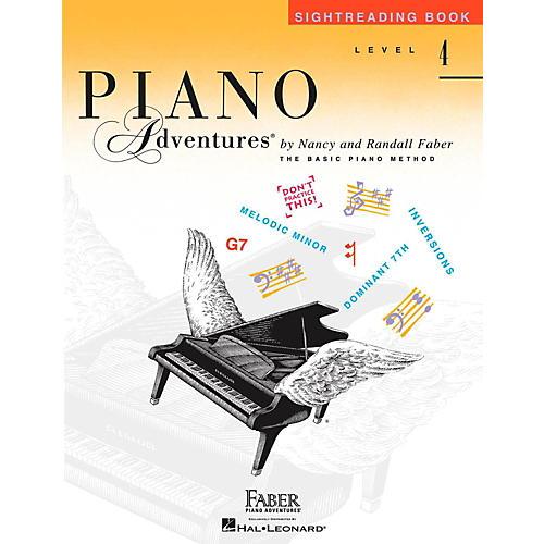 Faber Piano Adventures Faber Piano Adventures Level 4 - Sightreading Book-thumbnail