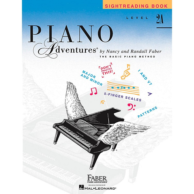 Faber Music Faber Piano Adventures Sightreading Book Level 2A