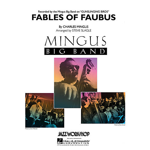 Hal Leonard Fables of Faubus Jazz Band Level 5 Arranged by Steve Slagle-thumbnail
