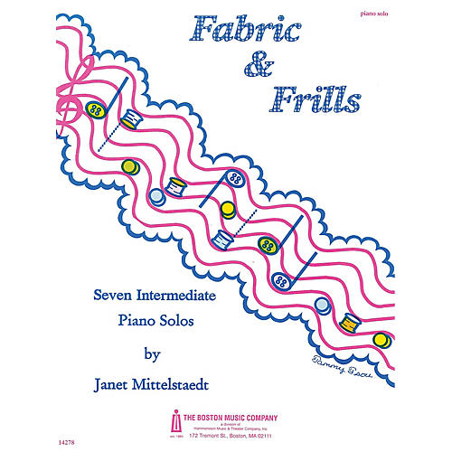 Music Sales Fabric and Frills Music Sales America Series Composed by Janet Mittelstaedt-thumbnail