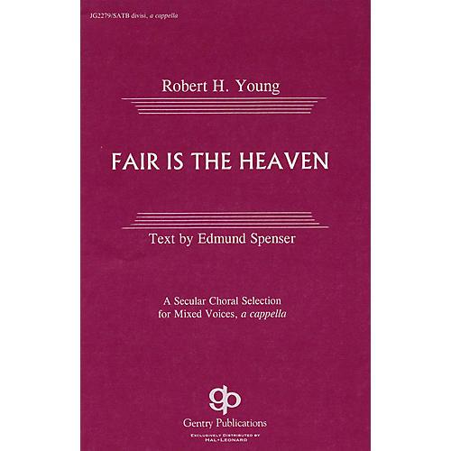 Gentry Publications Fair Is the Heaven SATB-thumbnail