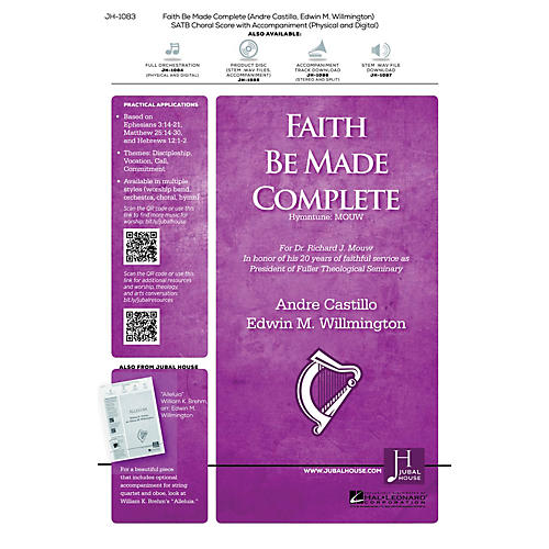 Jubal House Publications Faith Be Made Complete Accompaniment CD Composed by Edwin Willmington-thumbnail