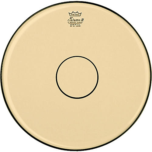 Remo Falam K-Series Clear Dot Batter Drum Head Natural 14 in.