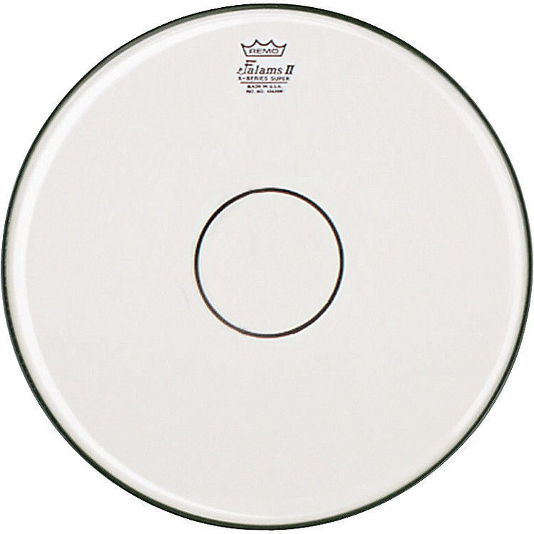 Remo Falam K-Series Clear Dot Batter Drum Head White 14 Inch