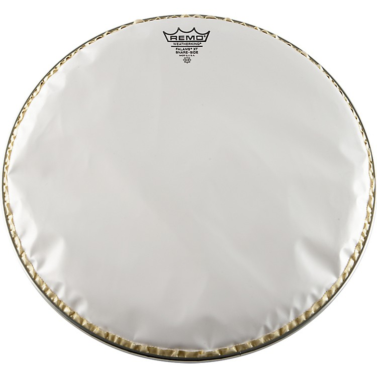 Remo Falams XT Crimped Snare Side Drum Head Smooth White 14