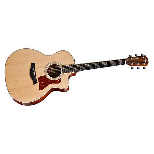 Taylor Fall 2013 Edition 214ce Grand Auditorium Cutaway Acoustic-Electric Guitar-thumbnail