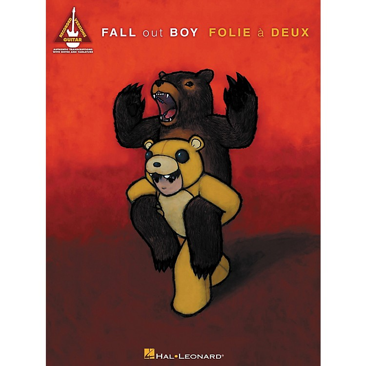 Hal Leonard Fall Out Boy - Folie A Deux Guitar Tab Songbook