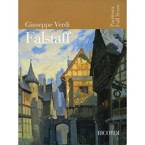 Ricordi Falstaff (Opera Full Score) Study Score Series Softcover Composed by Giuseppe Verdi-thumbnail