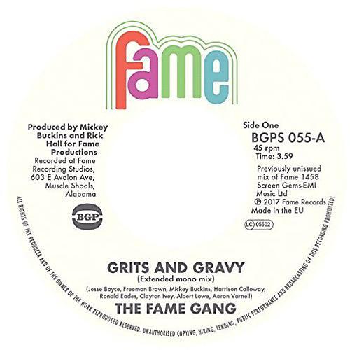 Alliance Fame Gang - Grits & Gravy (Full Length Mono) / Crime Don't Pay
